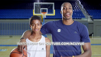 ACUVUE Moist TV Spot Featuring Dwight Howard
