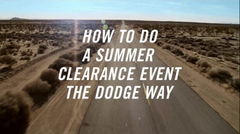 Dodge Summer Clearance Event TV Spot, 'The Dogde Way' - Thumbnail 1