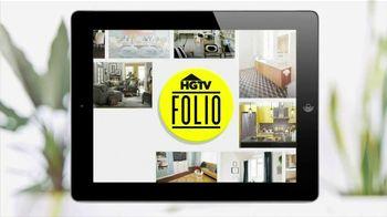 HGTV Folio App TV Spot