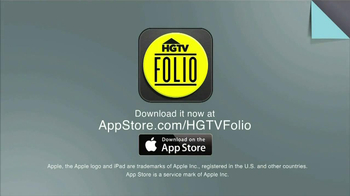 HGTV Folio App TV Spot - Thumbnail 5