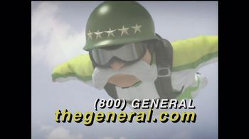 The General TV Spot, 'Wingsuit'