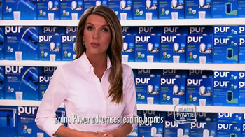 Brand Power TV Spot, 'PUR Advanced with Mineral Clear' - 16712 commercial airings