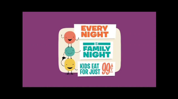 Old Country Buffet TV Spot, \'Family Night\'