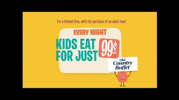 Old Country Buffet TV Spot, 'Family Night' - Thumbnail 6