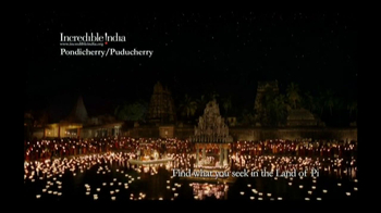 Incredible India TV Spot, 'Land of Pi' - Thumbnail 7