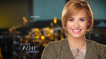 ACUVUE Moist Brand TV Spot Featuring Demi Lovato - Thumbnail 1