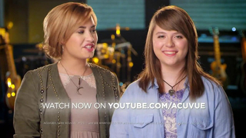 ACUVUE Moist Brand TV Spot Featuring Demi Lovato - Thumbnail 7