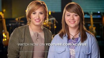 ACUVUE Moist Brand TV Spot Featuring Demi Lovato
