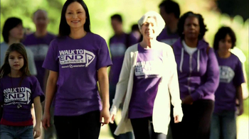 Alzheimer's Association TV Spot, 'Walk to End Alzheimer's' - 590 commercial airings