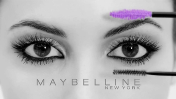 Maybelline New York Big Eyes Mascara TV Spot