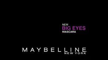 Maybelline New York Big Eyes Mascara TV Spot - Thumbnail 8