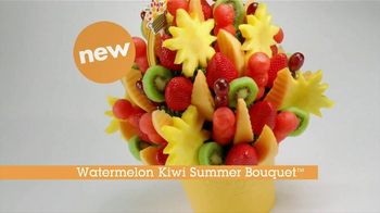 Edible Arrangements Watermelon Kiwi Summer Bouquet TV Spot