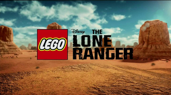 LEGO Lone Ranger TV Spot, 'Constitution Train Chase'