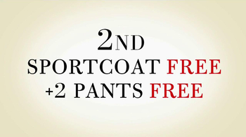 JoS. A. Bank TV Spot, '2 Pants, Sportscoasts Free' - Thumbnail 9