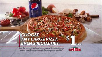 Papa John's BBQ Chicken & Bacon Pizza TV Spot - Thumbnail 7