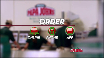 Papa John's BBQ Chicken & Bacon Pizza TV Spot - Thumbnail 8