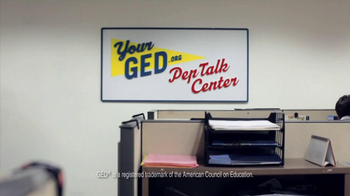 Ad Council TV Spot, 'GED Pep Talk Center' - Thumbnail 1