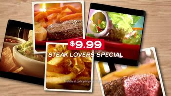 Chili's Steak Lovers Special TV Spot