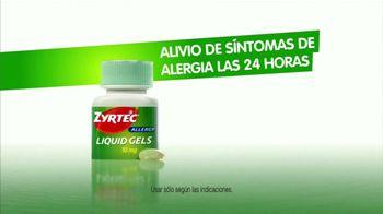 Zyrtec Liquid Gels TV Spot, 'Alergias de la Familia' [Spanish] - Thumbnail 5
