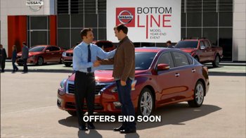 Nissan TV Spot, 'Bottom Line Model Year-End Event' - Thumbnail 9