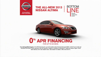 Nissan TV Spot, 'Bottom Line Model Year-End Event' - Thumbnail 6