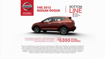Nissan TV Spot, 'Bottom Line Model Year-End Event' - Thumbnail 7