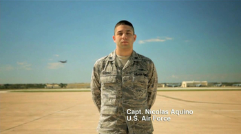US Air Force TV Spot, 'Capitán Nicolás Aquino' [Spanish] - Thumbnail 5