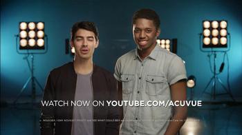 ACUVUE TV Spot Featuring Joe Jonas - Thumbnail 8