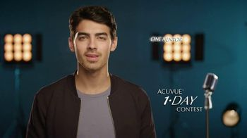 ACUVUE TV Spot Featuring Joe Jonas
