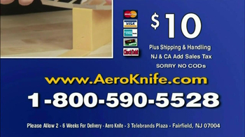 Aero Knife TV Spot, 'Twice as Smooth' - Thumbnail 10