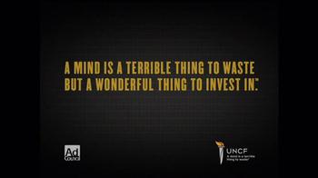 UNCF TV Spot, 'Invest' - Thumbnail 8