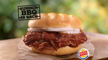 Burger King Memphis Pulled Pork Sandwich TV Spot