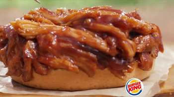 Burger King Memphis Pulled Pork Sandwich TV Spot - Thumbnail 4