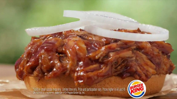 Burger King Memphis Pulled Pork Sandwich TV Spot - Thumbnail 6