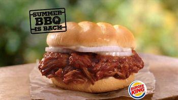 Burger King Memphis Pulled Pork Sandwich TV Spot
