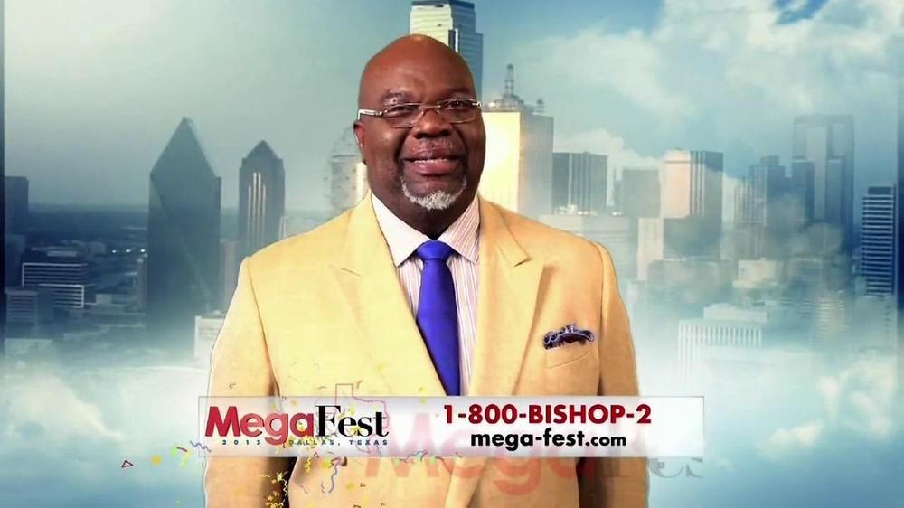 Mega-Fest TV Commercial Featuring Bishop T D  Jakes - Video