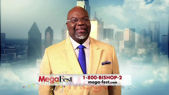 Mega-Fest TV Spot Featuring Bishop T.D. Jakes