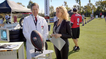 Bridgestone TV Spot Featuring Mathew Stafford, Michelle Beadle - 1797 commercial airings