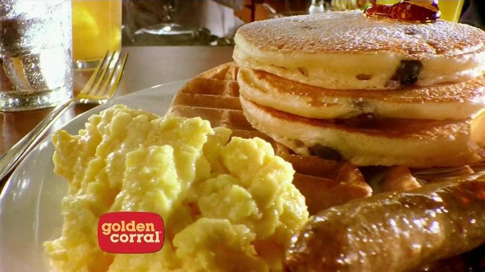 Golden Corral Weekend Breakfast TV Commercial, 'Better ...