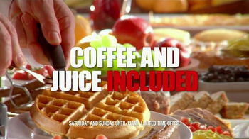 Golden Corral Weekend Breakfast TV Spot, 'Better Breakfast, Better Price' - Thumbnail 10