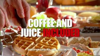 Golden Corral Weekend Breakfast TV Spot, 'Better Breakfast, Better Price' - Thumbnail 10