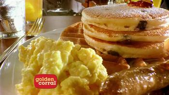 Golden Corral Weekend Breakfast TV Spot, 'Better Breakfast, Better Price' - Thumbnail 2