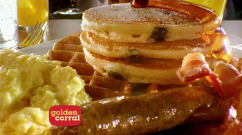 Golden Corral Weekend Breakfast TV Spot, 'Better Breakfast, Better Price' - Thumbnail 6
