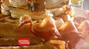 Golden Corral Weekend Breakfast TV Spot, 'Better Breakfast, Better Price' - Thumbnail 7