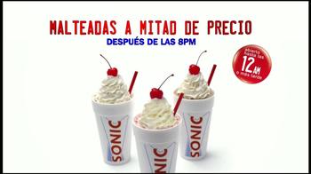 Sonic Drive-In Malteadas TV Spot, '25 Opciones' [Spanish]