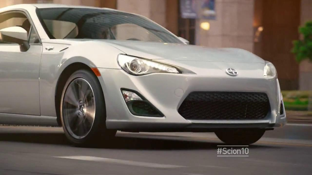 Scion 10 Series TV Commercial, '10 Years of Tracks' Song by Jeesh