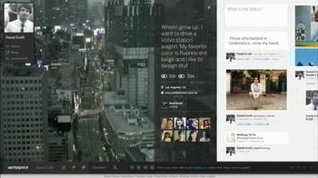 Myspace TV Spot, 'This is UX' Featuring Sky Ferreira, Song by Boy Noize - Thumbnail 1