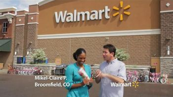 Walmart TV Spot, 'Fourth of July: Mikel-Claire P.' - 248 commercial airings