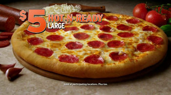Little Caesars Deep, Deep Dish Pizza TV Spot [Spanish] - Thumbnail 1