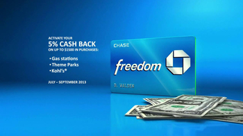 Chase Freedom TV Spot, 'Fuel More than Your Car' - Thumbnail 7